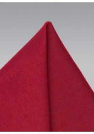 Kavaliertuch melierte Struktur rot