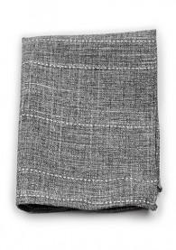 Kavaliertuch Baumwolle gesprenkelt anthrazit