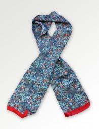 Krawattenschal rot Paisley-Motiv