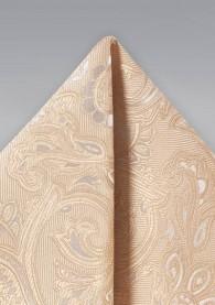 Einstecktuch lebensfrohes Paisley-Muster
