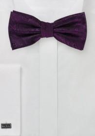 Fliege dynamisches Paisleymuster violett