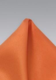 Einstecktuch kupfernes orange