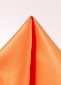 Einstecktuch Lüster orange