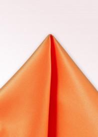 Einstecktuch Seide einfarbig orange