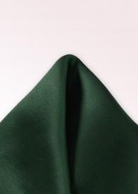 Ziertuch Seide unifarben dunkelgrün