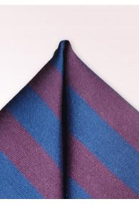 Kavaliertuch Wolle und Seide dunkelblau bordeaux