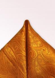 Ziertuch Paisley-Muster orange
