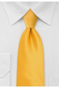 Krawatte in hellgelb