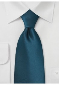 Krawatte aquamarinblau unifarben