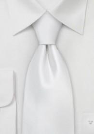 Krawatte sevenfold perlweiß