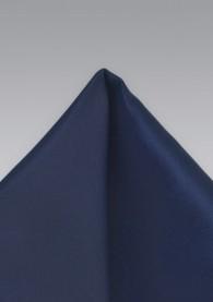 Einstecktuch in Marineblau