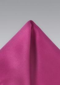 Einstecktuch in dunklem Pink