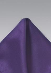 Einstecktuch dunkles violett