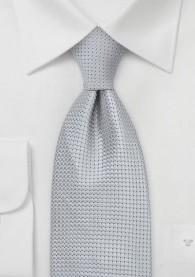 Krawatte Grau Gitterstrukturen