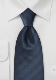 Krawatte navy italienisches Streifen-Pattern