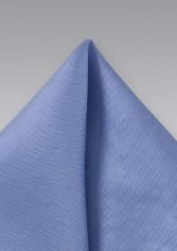 Stecktuch hellblau Seide