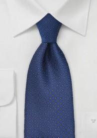Krawatte Punkte blau