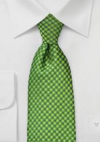Krawatte Struktur-Vierecke grün