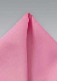 Einstecktuch rosa