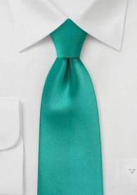 Krawatte monochrom mint
