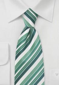 Krawatte Streifen-Muster blassgrün