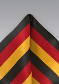 """Einstecktuch """"Deutschland"""""""