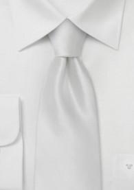 Krawatte weiß
