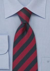 Devon-Krawatte rot navy