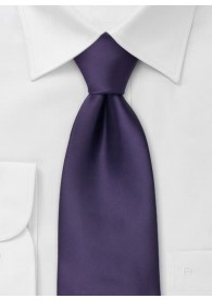 Moulins Krawatte in dunklem violett