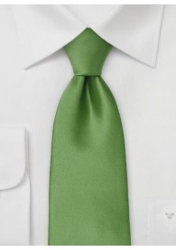 Mikrofaser-Krawatte Kindermonochrom grün