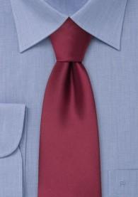 Mikrofaser Clip-Krawatte in bordeaux