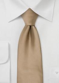 Braunbeige Krawatte Uni