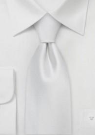 Krawatte Clip weiß Luxury Edition