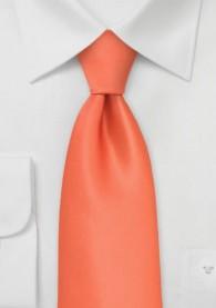 Krawatte Kinder in orange