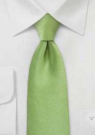 Mikrofaser-Krawatte Kinder monochrom grün