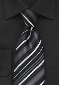 Clip-Krawatte stilsicheres Streifenmuster