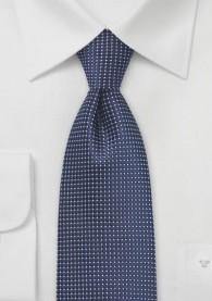 Krawatte strukturiert navy fast metallartig