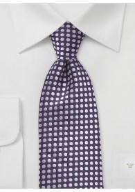 Krawatte Punkt-Dessin purpur