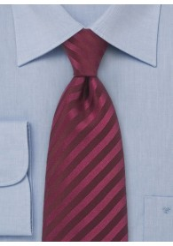Krawatte Clip bordeaux