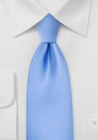 Krawatte Clip hellblau einfarbig