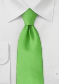 Mikrofaser-Kinder-Krawatte monochrom grün