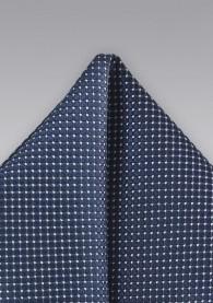 Stecktuch Tupfen-Pattern dunkelblau