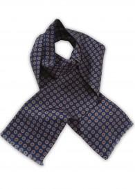 Krawattenschal Embleme navyblau