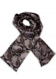 Stylischer Krawattenschal farbenfrohes