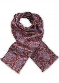 Modischer Krawattenschal farbenfrohes