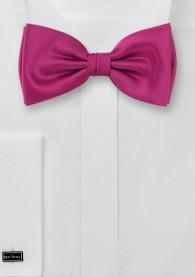 Herren-Schleife Poly-Faser dark pink