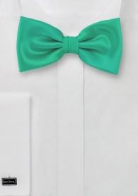 Herrenschleife Poly-Faser mintgrün