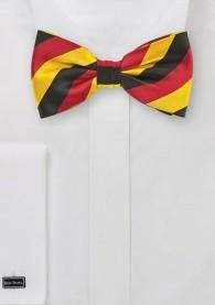 Schwarz rot gold - Fliege in Deutschlandfarben