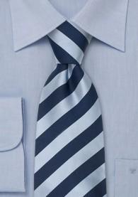 Krawatte eisblau/nachtblau