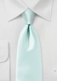 Krawatte einfarbig Poly-Faser blaugrün